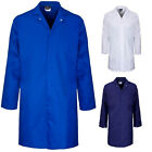 Professional Food Catering Coat Factory Industry Hygiene Lab Work Mens Bakers