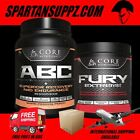 Core Nutritionals Fury Extreme V2 Pre Workout & ABC Intra Wo