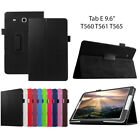 Kyпить Leather Tablet Stand Flip Cover Case For Samsung Galaxy Tab E 9.6 T560 на еВаy.соm