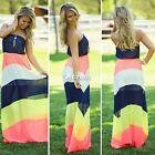 Boho Sexy Women Summer Long Maxi Evening Party Dress/Beach Dresses/Chiffon Dress