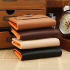 New Casual Men's Leather Card Holder Purse Zip Coin Pocket Wallet Cluch Billfold