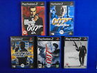 ps2 JAMES BOND 007 Nightfire Quantum Solace Agent Fire Russia Love Everything $59.99 AUD
