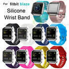 Replace Silicone Rubber Wrist Band Bracelet Watchband Strap for Fitbit Blaze New