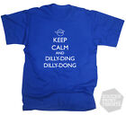 Leicester City Claudio Ranieri Keep Calm Dilly Ding Dong T-Shirt Adult & Kids