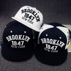 NEW HOT Women Men's Snapback 1947 New York Adjustable Baseball Cap Hip Hop Hats