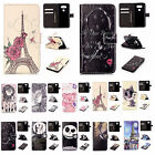 Premium Basso-relievo Synthetic Leather For iPhone Samsung Card Stand Case Cover