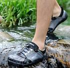 Mens Fashion Hollow Out Outdoor Sports Sandals Flats Breathable Pop Beach Shoes