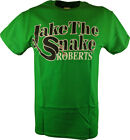 Jake the Snake Roberts Mens Green T-shirt