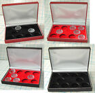 Coin Case for 10 HALF Sovereigns INCLUDING 10 X Lighthouse Coin Capsules