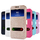 Stand Magnet Flip Silk Texture PU Leather Case Cover For Samsung Galaxy S4 I9500