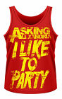 ASKING ALEXANDRIA I Like To Party MENS TANK TOP VEST SHIRT NEU