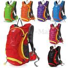 15L Outdoor Hiking Cycling Backpack Hydration Pack Climb Water Bladder Rucksack