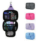 Travel Cosmetic Makeup Toiletry Case Wash Organizer Storage Pouch Hanging Bag LA