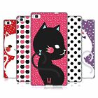 HEAD CASE DESIGNS CATS AND DOTS SOFT GEL CASE FOR HUAWEI PHONES