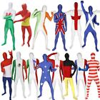 Flag Morphsuit Great for Team Sport Fancy Dress Costume National Country Events