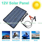 5W 10W 20W 100W Portable Solar Panel Battery Charger Backup for 12V Camping Home