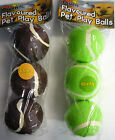 Pack of 3 Flavoured Dog Balls (Minty or Chocolate)