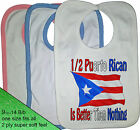1/2 HALF Puerto Rican is better than nothing BIB Portugal nationality flag Rico
