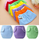 Baby Newborn Diapers Cover Adjustable Reusable Washable Nappies Cloth Wrap New