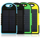 Waterproof 12000mAh Dual-USB Solar Charger Bank Battery Power for ALL Cell Phone