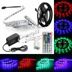 5050 SMD 5M RGB 150LEDs LED Strips Flexible Light 24Key 44Key IR 2A Power Supply