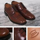 Delicious Junction Skin Mod Brogue Royale Goodyear Welt Sole Shoe Chestnut Brown
