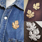New Clothes Accessories Leaf Brooch Pins Chic Vintage Brooches For Women ManLACA