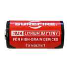 SureFire SF12-BB 123A CR123 3-Volt Lithium Batteries