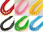 New Long Spanish Flamenco Bead Necklace Red Black Pink Blue Yellow Green