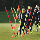 12 x Precision Training Pro Boundary Poles 1.7m White / Red / Fluo Yellow rrp£64