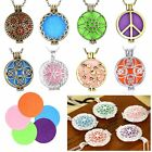 Essential Fragrance Oil Aromatherapy Diffuser Necklace For Floating Charm Locket