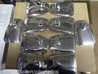LAMBRETTA  MOD STYLE CHROME BACKED SMOOTH MIRRORS CHOOSE YOUR QUANTITY