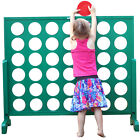 Garden Games Big 4 Giant 120cm Tall Family Fun Connect Four In A Row Garden Game