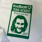 Henrik Larsson Celtic Originals football 80's Casuals inspired t-shirt