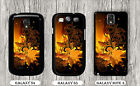 FRACTAL WORLD YELLOW AND BLACK  ART CASE FOR SAMSUNG GALAXY S3 S4 NOTE 3 -lok0Z