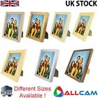 JSP Wood Style Photo Frame w/ Acrylic Cover (Stand Up Or Hang on the Wall)