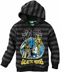 Star Wars Zip Up Hoodie Size 5-6 7 New Sweatshirt Childs Kids Yoda R2-D2 C3PO $47.31 CAD