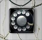 ROTARY DIAL VINTAGE PHONE PENDANTS NECKLACE M - L - XL -rd4h