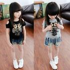 Female Owl Sequins Girls Spring And Summer Casual Club Short-sleeved T-shirts