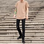 1pc New Mens Hip-hop Punk Style O-neck T-shirt Bottoming Long Top Short Sleeve