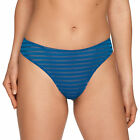 PRIMA DONNA TWIST ONLY YOU STRING 0641470 COLIBRI BLUE NEUF THONG NEW JUILLET