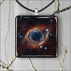 SPACE HELIX NEBULA PENDANTS NECKLACE M - L - XL -njk6Z