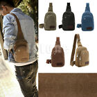 Men Vintage Casual Canvas CrossBody Messenger Shoulder Bag Satchel Handbag New