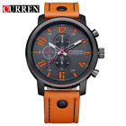 CURREN Luxury Casual Men's Business Wristwatches Analog Military Sports Watch