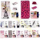 Patterned Leather Embossment Effect Case Card Pocket Cover Bumper Fr Smart Phone