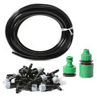 10m Irrigation System Home Garden Yard Controller 10/20x Hose Sprinkler Head Set