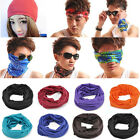 black bandana clothes - Solid Colors Bandana Head Face Mask Tube Snood Beanie Scarf Neck Gaiter Headwear