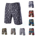 Combat Men Linen Floral Pattern Shorts Pants Trousers Casual Beach Trousers New