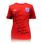 Replica England Shirt hand signed by 9 of 1966 World Cup Team