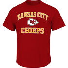 Majestic NFL Kansas City Chiefs Heart And Soul III Mens T-shirt